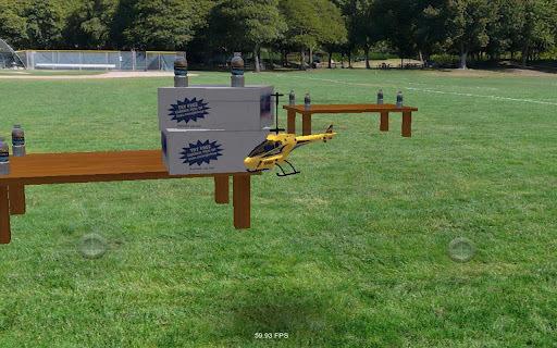 模拟遥控直升机游戏截图