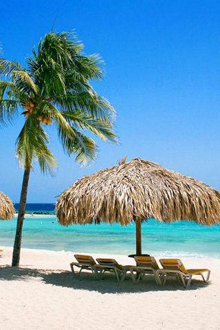 海滩风景壁纸_海滩风景壁纸免费下载_丫丫玩手机游戏
