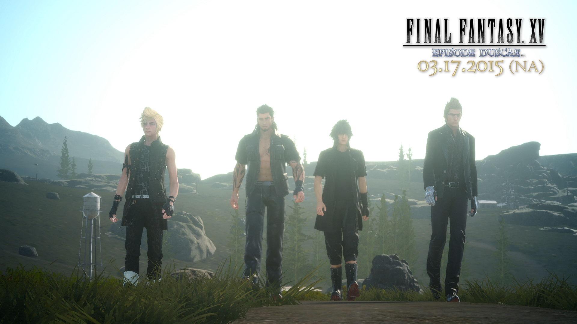 《最终幻想15》中文化决定