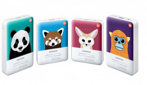 三星推出超萌动物充电宝!提醒大家关爱动物