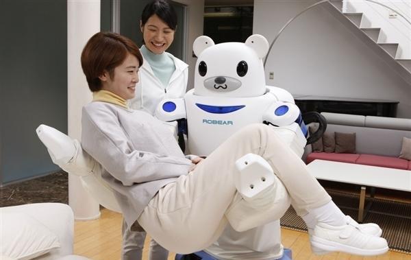 大白现身?日本研究出超萌机器人