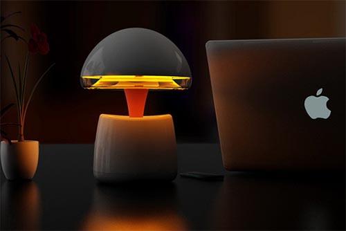 蓝牙台灯简单电路图