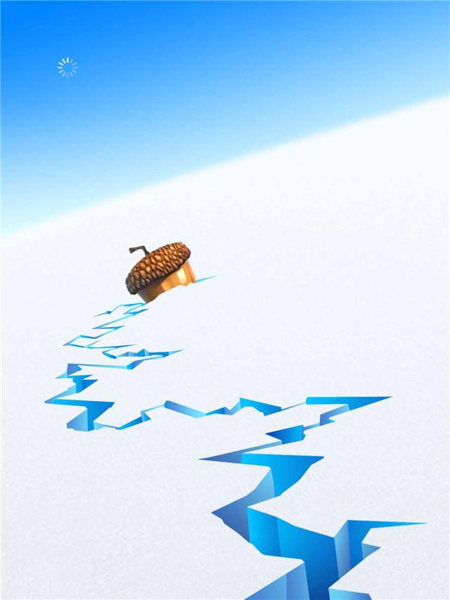 《冰川时代:雪崩》采用让玩家将直线、横线与斜线方向上3个以上的相同水果相连消除的益智玩法,让各位在游戏过程中与主角们一起展开一场古代寻宝之旅。除了收集系列角色登场之外,游戏中还加入了各种有趣的小游戏供玩家挑战,大大增强了游戏性。 游戏还可以使用彩虹花朵、铲子,以及一些用来救场的小道具,这些道具都需要一定数量的橡果币购买。