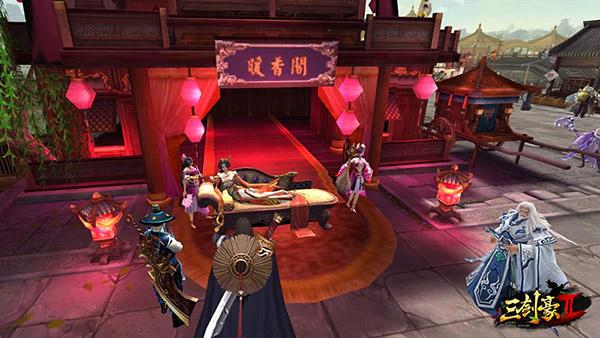 《三剑豪2》首测玩家热情 主城小萝莉被搭讪20万次