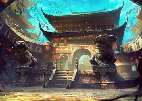 六龙争霸3D游戏截图